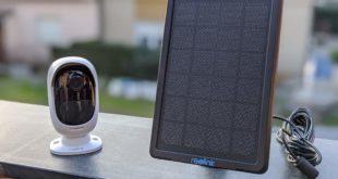 Recensione telecamera di sicurezza ARGUS 2 con pannello solare.