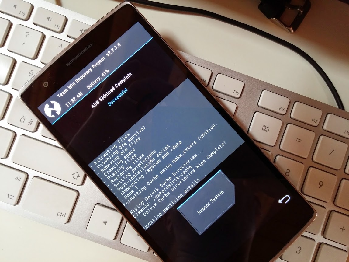 OnePlus One : Root e recovery in un click (OS X - Windows