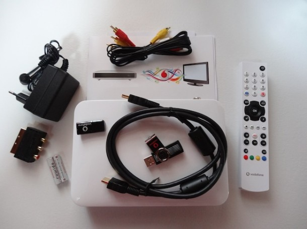 Vodafone tv solution in offerta a soli 15 ideale come for Regalo mobile tv
