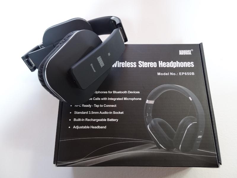 Recensione Cuffie Over Ear Bluetooth August EP650B   Qualità a buon prezzo!   889feb7563c3