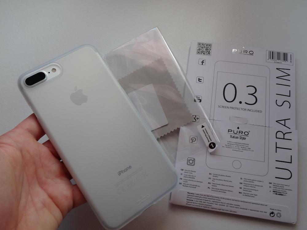 custodia puro iphone 7 plus