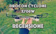 DROCON – Cyclone X708W : Recensione del drone economico e facile da pilotare!