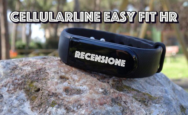 Cellularline Easy Fit HR : Recensione del bracciale per il fitness!