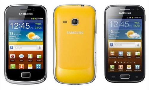 Samsung annuncia una seconda versione di Galaxy Ace e Galaxy Mini