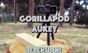 Gorilapod AUKEY (treppiedi flessibile) da 18 euro. Recensione.