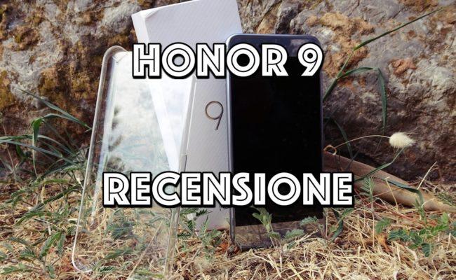 Recensione Honor 9 : Anche quest'anno è il top di gamma al miglior prezzo! (449€)