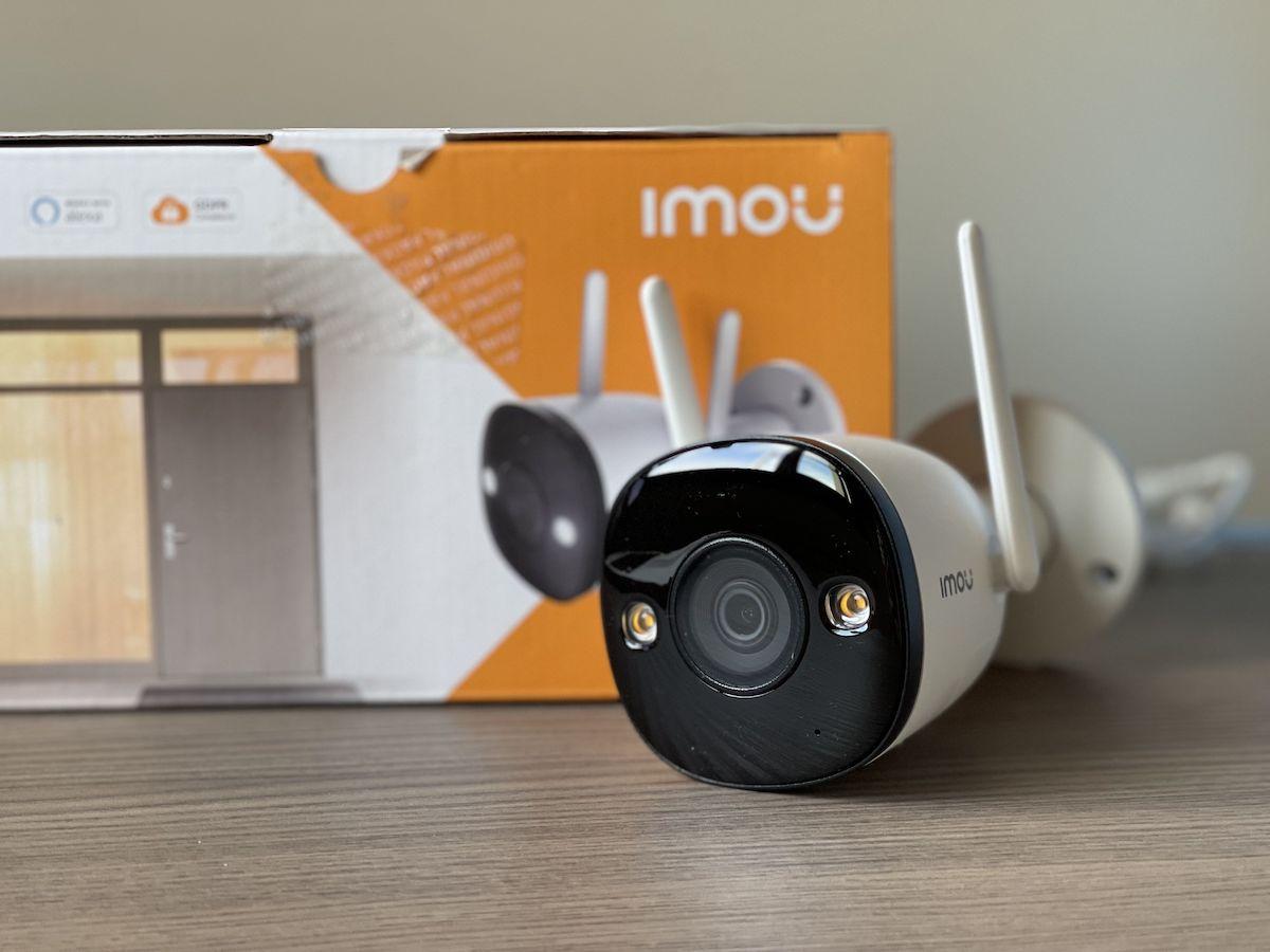 Recensione telecamera di sorveglianza IMOU Bullet 2E (59€)