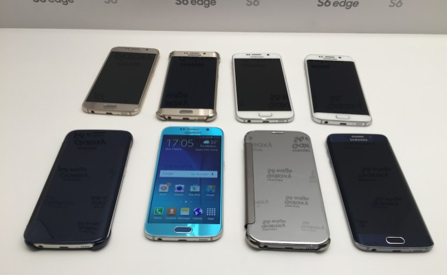 Samsung Galaxy S6 Vs Samsung Galaxy S6 EDGE : Fight!