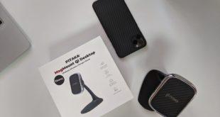 Pitaka Desktop Qi : Il supporto magnetico con ricarica per il tuo smartphone!