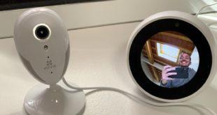 Recensione telecamera per interni EZVIZ. Registra in Full HD, compatibile con ALEXA e GOOGLE.