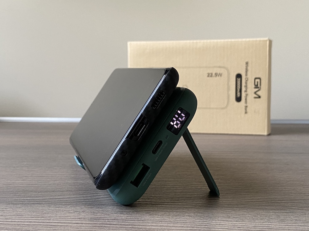 Recensione PowerBank GIM da 20.000 mAh. Potente, con ricarica wireless e ricarica rapida!