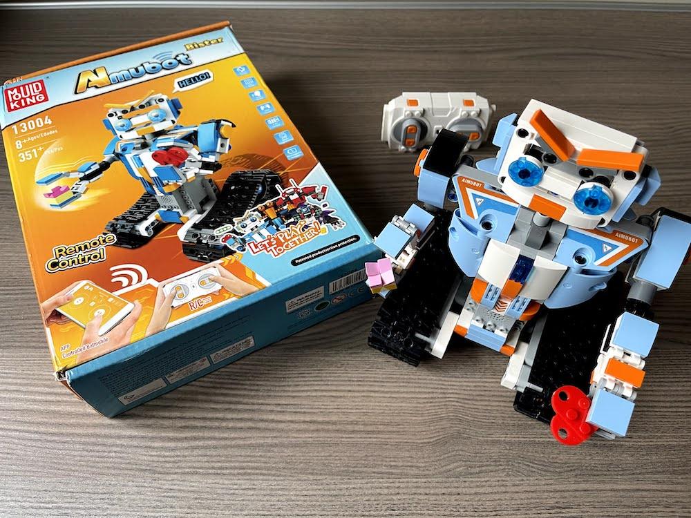 Mould King Almubot : Un robot di mattoncini con radiocomando e app! | Recensione e sconto