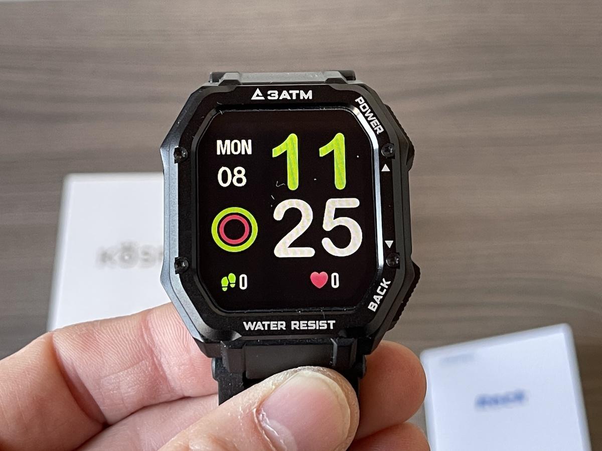 Recensione Kospet ROCK, lo smartwatch RUGGED economico che misura tutto!