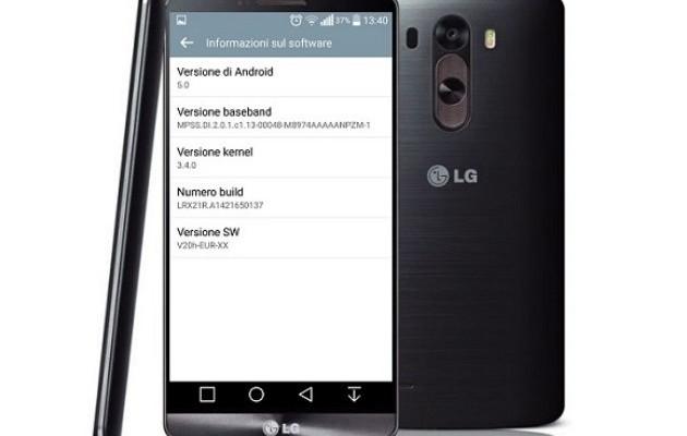 LG G3 si aggiorna, ecco i tasti virtuali in stile Android Lollipop
