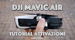 Dji MAVIC AIR : Unboxing e attivazione! (Tutorial)