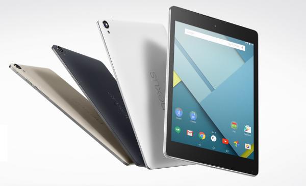 Google Nexus 9 è ufficiale, HTC ritorna nel mondo dei tablet | Comunicato Stampa
