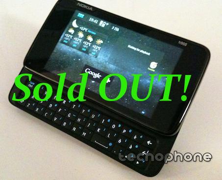Nokia N900 finiti