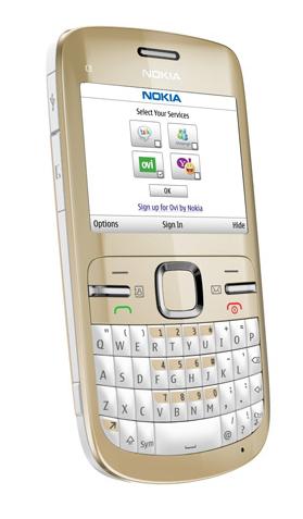 Nokia presenta 3 nuovi terminali : ecco c3, c6 ed e5!