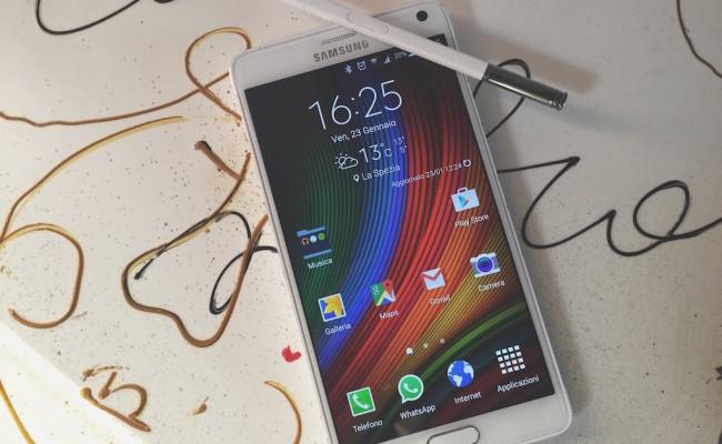 Samsung Galaxy Note 4 : Video recensione e conclusioni finali