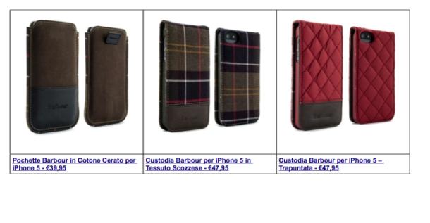 Proporta: Una Custodia a pochette per iPhone 5s /5 in tessuto