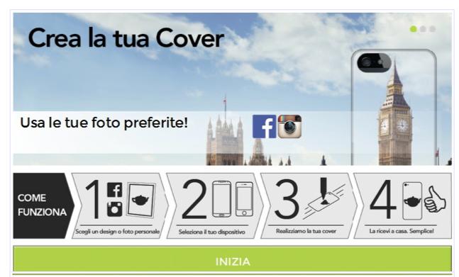 Proporta lancia il nuovo servizio crea la tua cover for Crea la tua planimetria gratis