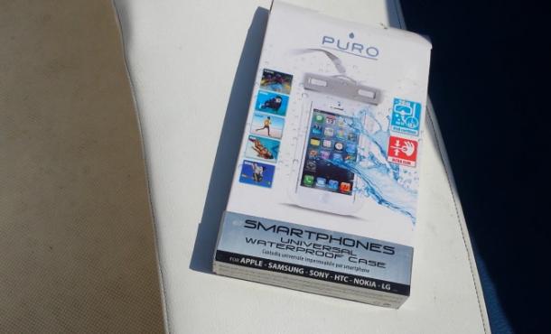 custodia iphone impermeabile puro