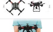 BAYANGTOYS X21 : Drone FPV con GPS e fotocamera FHD a 160 euro.