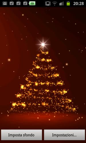 Selezione di live wallpaper natalizi per android for Sfondi natale 3d