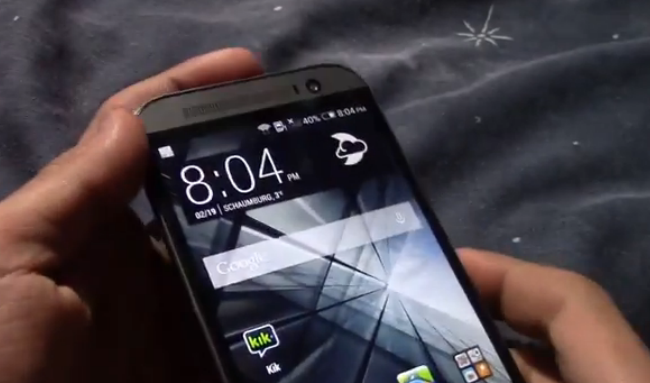 Htc M8, il nuovo Htc One si mostra in 12 minuti di video!