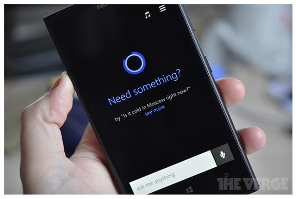 Cortana Screen