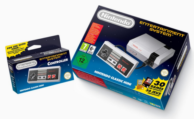Nintendo riporta gli anni 80 sul tuo TV. Ecco Nintendo NES Mini con 30 giochi!