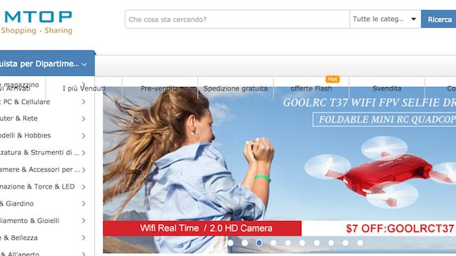 Sei in cerca di un drone? Su TomTop c'è l'offerta che fa per te!(Coupon e sconti)
