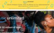 Amazon lancia il servizio di streaming Music Unlimited anche in Italia.