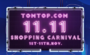 L'11/11 si festeggia su TomTop. Tante incredibili offerte solo per oggi!