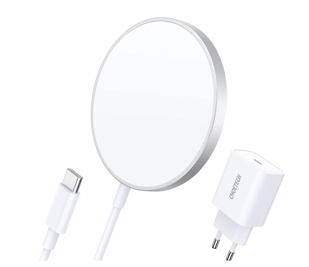 Recensione CHOETECH caricatore wireless magnetico, compatibile com magsafe.