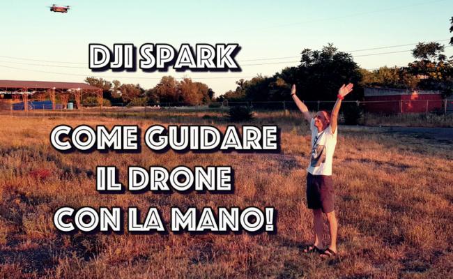 Dji Spark : Come controllare il drone con una sola mano!