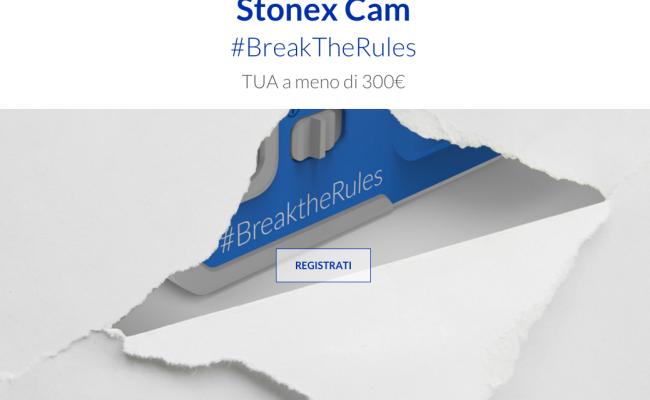 Stonex Action Cam ufficiale con registrazione in 4K e prezzo inferiore ai 300 euro