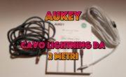 Recensione cavo lightning da 2 metri di AUKEY (Ottimo per iPhone X!)