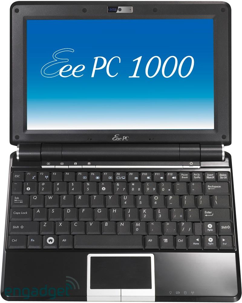 Computex 2008 Asus Eeepc 1000 Caratteristiche Ufficiali