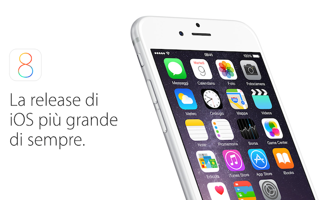 Apple iPhone 6 Plus : Ecco le novità di iOS 8 in video