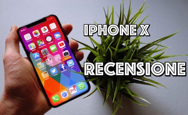 Recensione iPhone X : Si, è il miglior iPhone di sempre, ma…