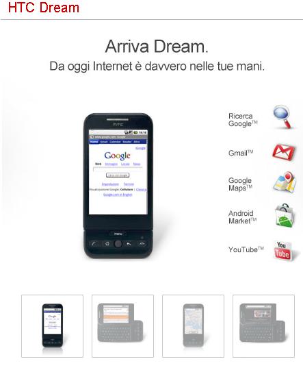 HTC Dream TIM