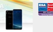 Samsung Galaxy S8|S8+ vince il premio EISA 2017 come miglior smartphone.
