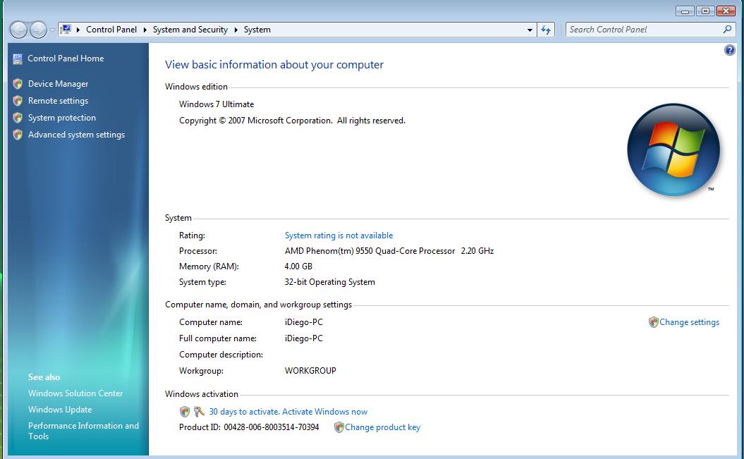 Windows 7 Ultimate - самый универсальный и производительный вариант Windows